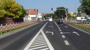 ulica Poznańska w Koziegłowach fot. PP