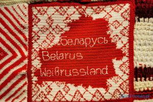 """white red white wstega nadziei fot. slawek wachala 180204 300x200 - Poznań: """"Wstęga nadziei"""" dla Białorusi"""