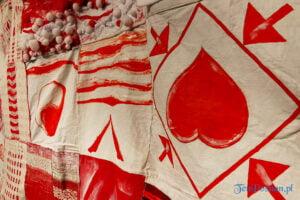 """white red white wstega nadziei fot. slawek wachala 180633 300x200 - Poznań: """"Wstęga nadziei"""" dla Białorusi"""