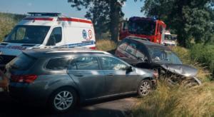 wypadek fot. OSP Osieczna