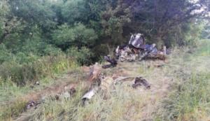 wypadek samolotu fot. czeska policja