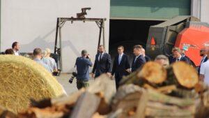 AgroUnia na wizycie premiera Morawieckiego fot. AgroUnia