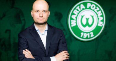 Bartosz Wolny, prezes Warty Poznań fot. Klaudia Berda, Warta Poznań
