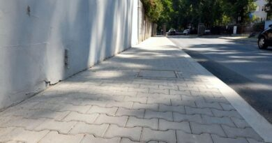 chodnik ul. Sielawy fot. ZDM