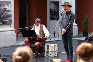 Dziadowski Blues Jacek Hałas i Jarek Kaczmarek - Kulturalne lato na Gołębiej fot. Sławek Wąchała