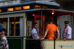 Historyczna linia tramwajowa H nocna obsługiwana wagonami Bergishe Stahlindustrie typu I oraz Carl Weyer fot. Sławek Wąchała
