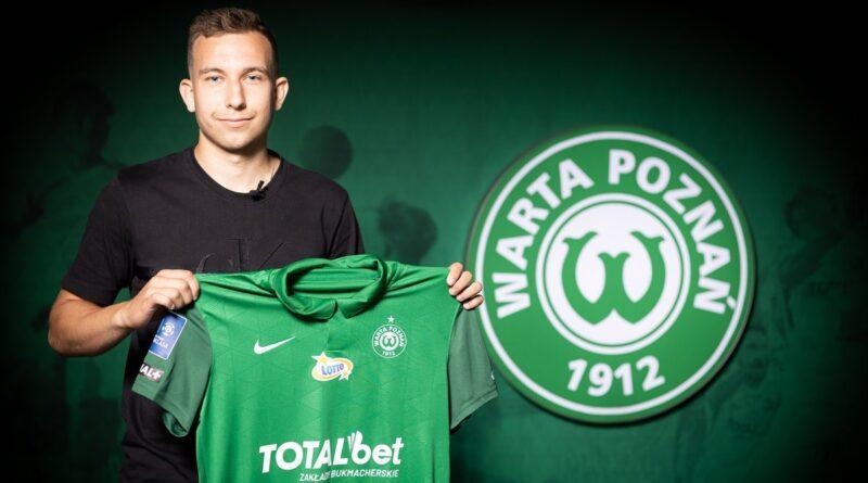 Konrad Matuszewski Fot. Klaudia Berda , Warta Poznań