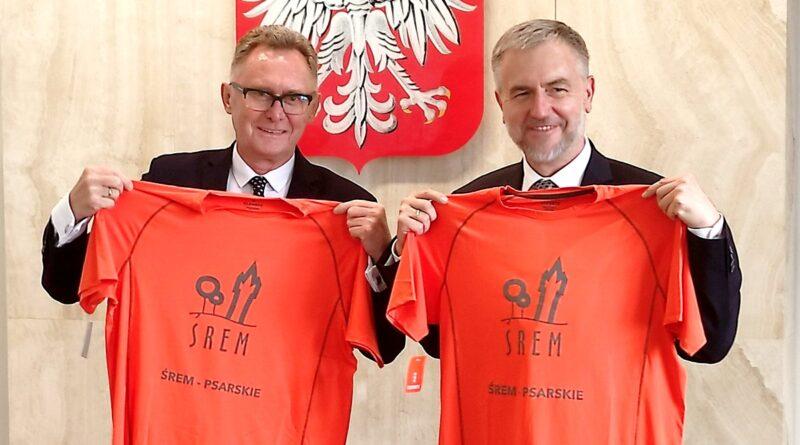 Koszulki rowerowe Śrem - Psarskie fot. UMWW