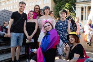 Ludzie - Marsz Równości Poznań 2021 fot. Sławek Wąchała
