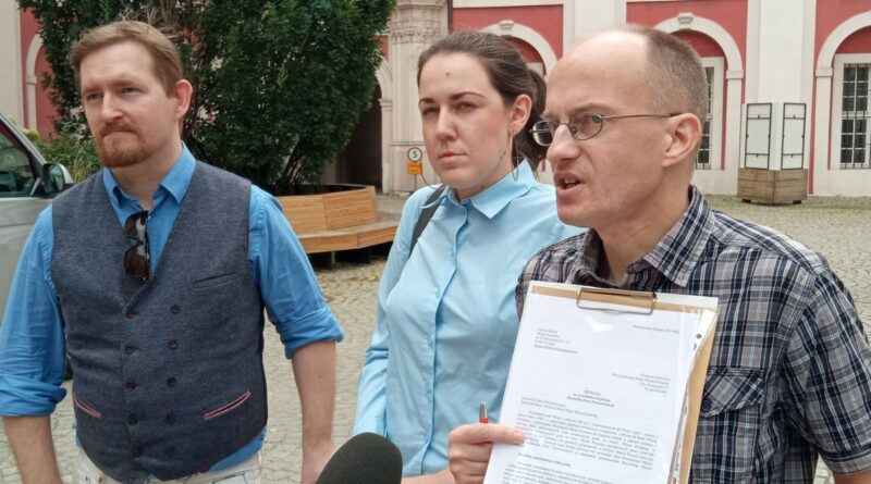 Łukasz Garczewski, Paulina Nowak, Przemysław Czechanowski fot. L. Łada