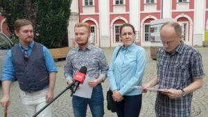 Łukasz Garczewski, Paulina Nowak, Przemysław Czechanowski, Maciej Kozłowski fot. L. Łada