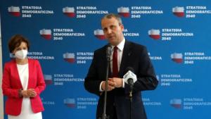 Marlena Maląg, Michał Zieliński fot. WUW