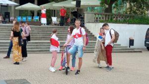 Niech żyje Białoruś fot. L. Łada