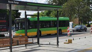 nowe torowisko rondo rataje fot. ump4 300x169 - Poznań: Wracają tramwaje na Jana Pawła II i Zamenhofa!