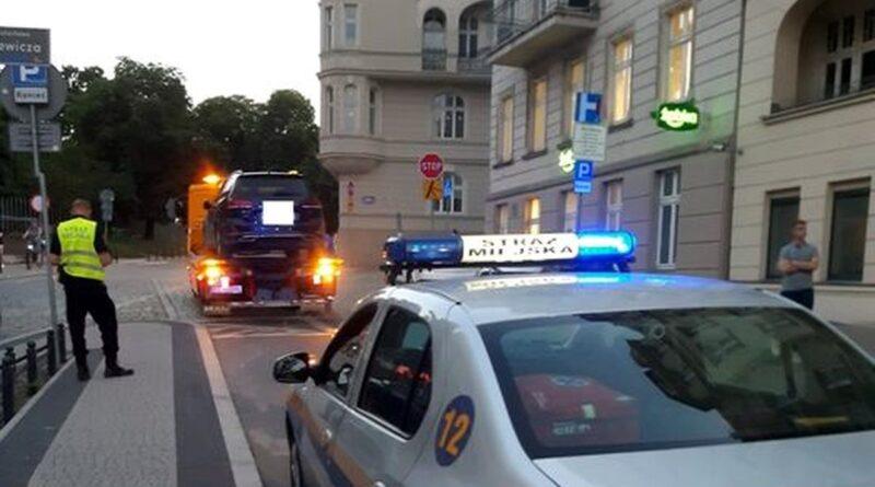 parkowanie na Krysiewicza fot. SMMP