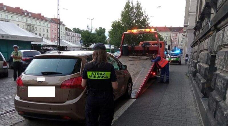 plac Wielkopolski, parkowanie fot. SMMP