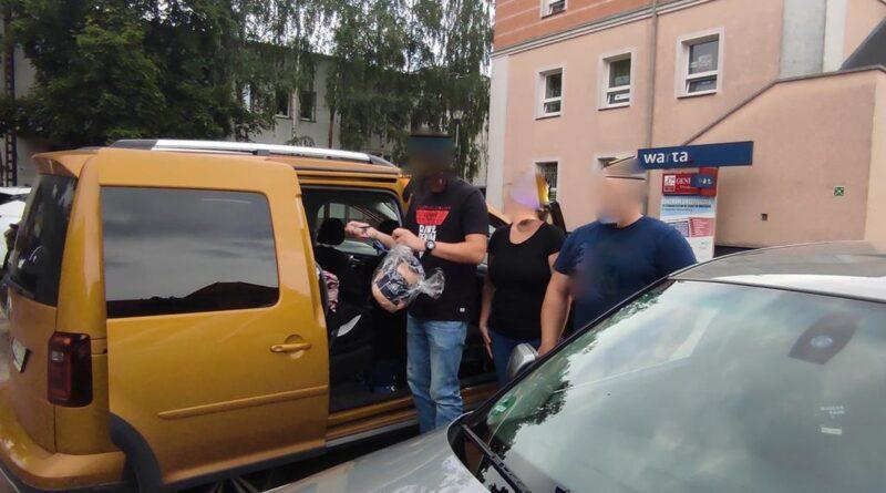 pomoc dziecku fot. policja Wągrowiec