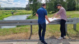 Franciszek Sterczewski, ujęcie wody pitnej w Krajkowie, fot. FB F. Sterczewski