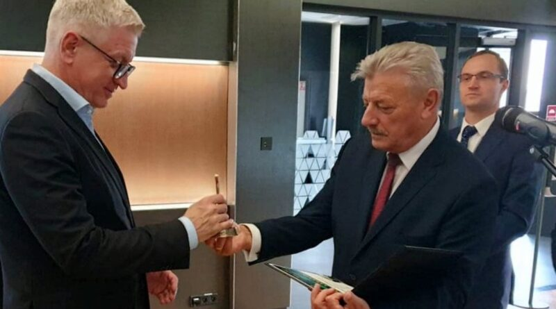 pożegnanie prezesa Tulibackiego fot. MPK
