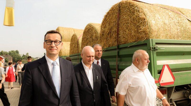 premier M. Morawiecki w Marianowie Borowskim fot. KPRM