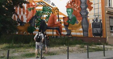 projekt muralu przy Jeżyckiej 36 fot. RO Jeżyce