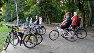rowery nad Rusałką fot. L. Łada