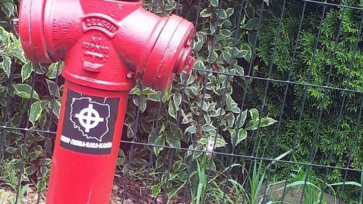 symbole nazistowskie fot. policja