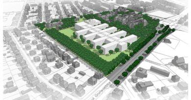 wizualizacja nowego szpitala przy Grunwaldzkiej fot. UMP