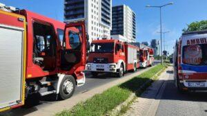 wybuch gazu fot. KMPSP Poznań