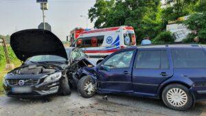 wypadek fot. OSP Wyrzysk