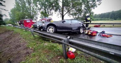 wypadek fot. policja Piła