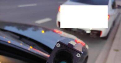 zatrzymane BMW fot. policja