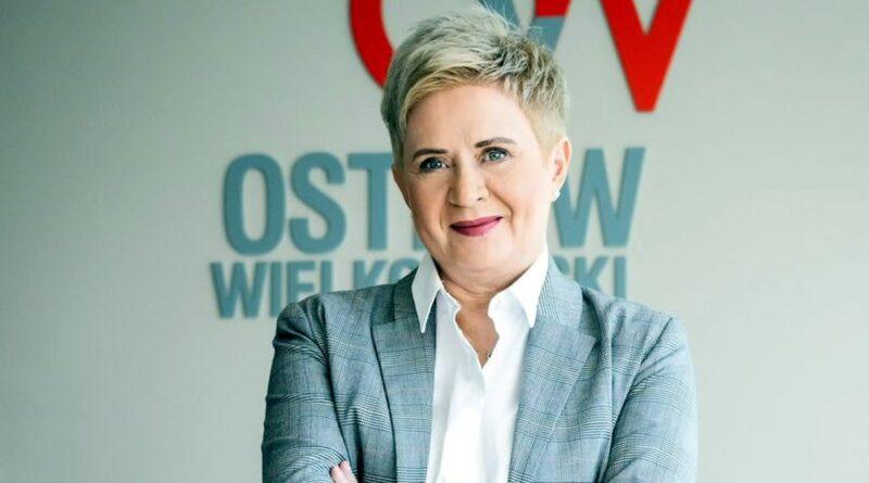 Beata Klimek, prezydent Ostrowa Wlkp. fot. UM Ostrów