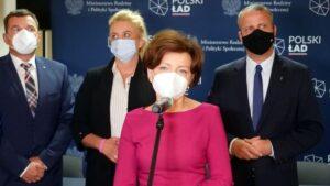 dotacja dla ostrowskiego szpitala, minister Marlena Maląg fot. WUW