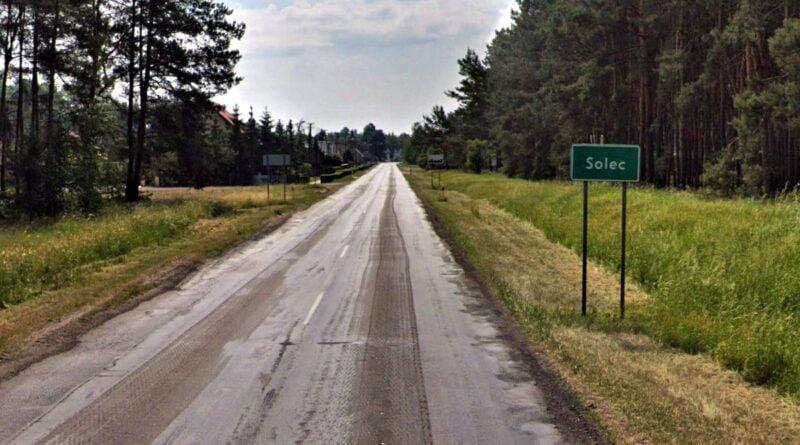 droga wojewódzka 305 Solec fot. WZDW