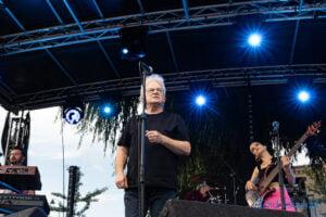 Felicjan Andrzejczak z zespołem Festiwalowe lato Pobiedziska fot. Sławek Wąchała