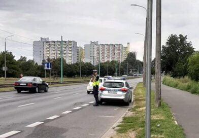 kontrola drogowa Hetmańska fot. policja