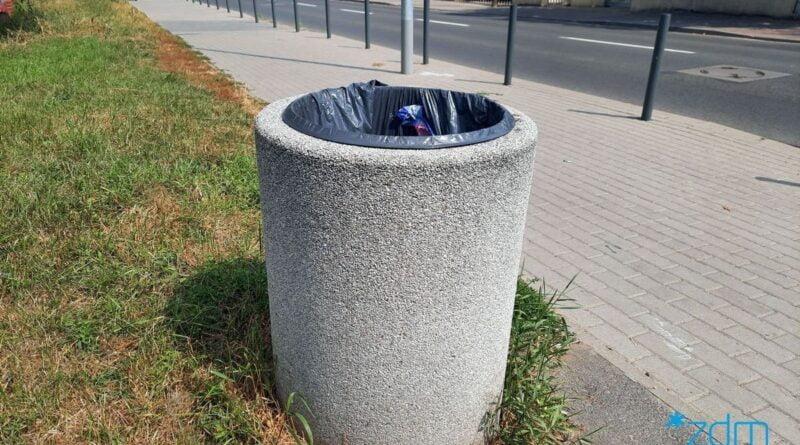kosz na śmieci fot. ZDM