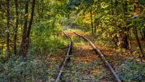 Linia kolejowa 368 Sieraków fot. Sławek Wąchała