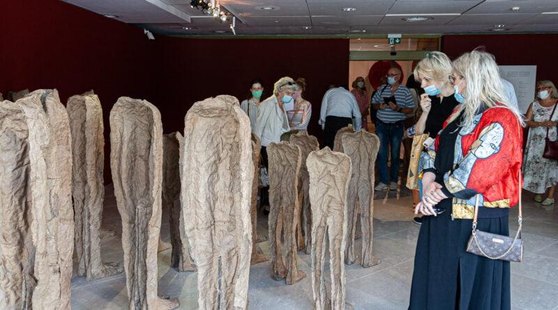 Magdalena Abakanowicz - jesteśmy strukturami włóknistymi - wernisaż wystawy MNP fot. Sławek Wąchała