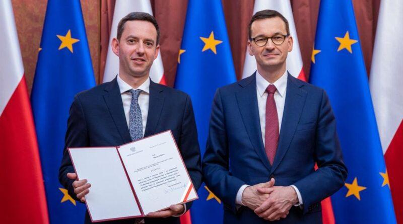 Marcin Ociepa, Mateusz Morawiecki fot. gov.pl