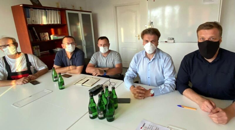 negocjacje w Paroc, Adrian Zandberg fot. A. Zandberg FB