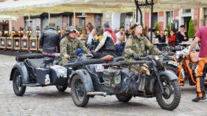 Parada motocyklistów fot. Konrad Czapracki