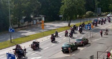 Parada motocyklistów fot. L. Łada