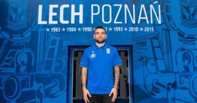 Pedro Rebocho fot. Przemysław Szyszka, Lech Poznań