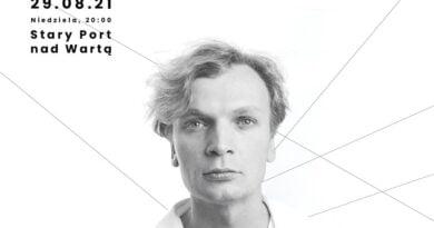 """plakat koncertu """"Przeczekajmy tutaj noc"""" fot. Teatr Muzyczny, Poznań"""