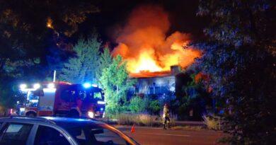 pożar, Podolany fot. pomoc dla pogorzelców