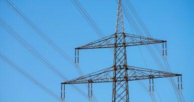 prąd słup energetyczny
