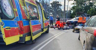 ratowanie mężczyzny przez strażników gminnych fot. Gmina Dopiewo