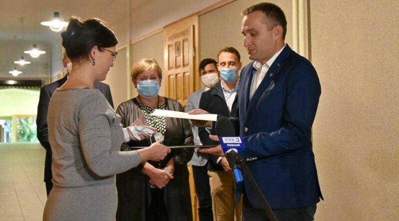 Specjalny Ośrodek Szkolno-Wychowawczy dla Dzieci Niesłyszących, Mariusz Wiśniewski, Paulina Stochniałek fot. UMP